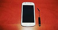 Самсунг с 3 Galaxy 9300 S9 4-х дюймовый (Android 4 Duos, 2 sim, сим-карты, Wi-Fi) + стилус в подарок!