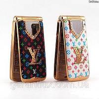 Женский раскладной телефон Louis Vuitton С 130 (2 sim) луи витон