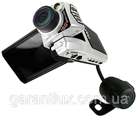 Автомобильный видеорегистратор P 9 две камеры GPS модуль + чехол!