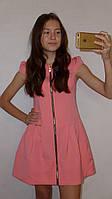 """Летнее платье для девочки """"Каролина"""" на рост 134-156см"""