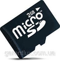 Micro SD 2 Gb  карта памяти микро СД на 2 Гб