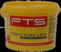 Штукатурка акриловая Барашек FTS STRUKTURE LINE 25 кг 1.5мм