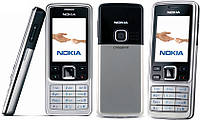 Металлический телефон Nokia 6300 Duos (2 сим-карты) полностью в металлическом корпусе