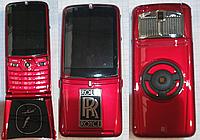 Телефон VERTU ROLLS ROYCE V095 с флипом (Duos, 2 сим карты 510)