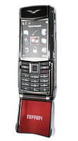 Телефон VERTU Ferrari F510 с флипом (Duos, 2 сим карты)