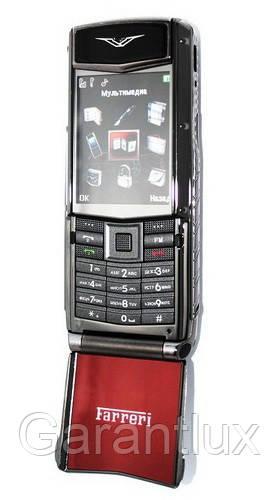 Телефон VERTU Ferrari F510 с флипом (Duos, 2 сим карты) - Garantlux в Харькове