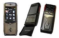 Мобильный телефон VERTU Ferrari F 510 с флипом (Duos, 2 Sim)