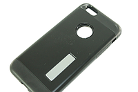 Чехол на IPhone 5/5S/SE (задняя крышка с подставкой) Черный