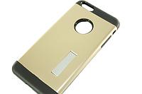 Чехол на IPhone 6 plus/6S plus (задняя крышка с подставкой) Золотой