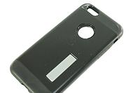 Чехол на IPhone 6 plus/6S plus (задняя крышка с подставкой) Черный