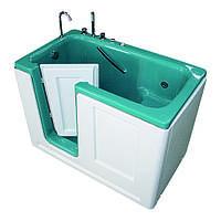 """Бальнеологическая сидячая ванна """"Комфорт""""ВБ-02 с боковой дверью.гидромассаж (14 водных форсунок)"""