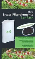 Сменный фильтрующий элемент для фильтра Nano Clean Eckfilter (3 шт.) + префильтр