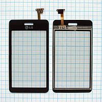 Тачскрин сенсорное стекло для LG GD510 black