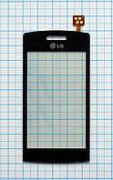 Тачскрин сенсорное стекло для LG GT405 dark blue