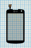 Тачскрин сенсорное стекло для LG GS500 Cookie Plus black