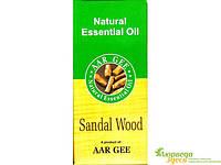 Натуральное эфирное масло Сандал 10 мл. Aar Gee Natural