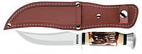 Спортивный нож Tramontina SPORT для шкур в чехле, 127мм