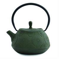 Чайник заварочный чугунный, темно-зеленый, 1,1 л 1107122 BergHOFF