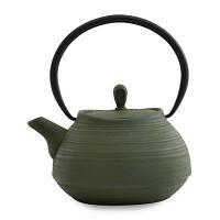 Чайник заварочный чугунный, темно-зеленый, 1,1 л 1107113 BergHOFF