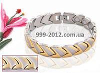 Магнитный стальной браслет - Гермес - 00502