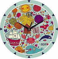 Часы настенные ЮТА MiNi 240Х240Х30мм M 16 Uta