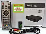 Satcom T210. Эфирный цифровой FTA приемник стандарта DVB-T/T2, PVR с функцией записи, фото 2