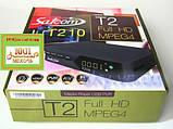 Satcom T210. Эфирный цифровой FTA приемник стандарта DVB-T/T2, PVR с функцией записи, фото 3