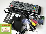 Satcom T210. Эфирный цифровой FTA приемник стандарта DVB-T/T2, PVR с функцией записи, фото 4