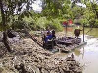 Укрепление берегов рек. Гидротехнические услуги