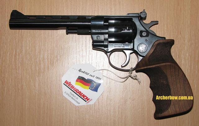 Револьвер под патрон флобера Arminius HW4 6''