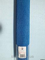 Бумага гофрированная, 557 синяя