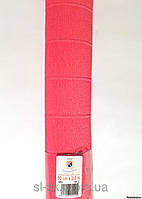 Бумага гофрированная, 551 ярко-розовая