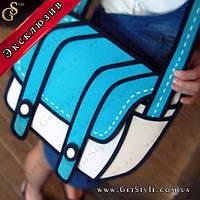 """Необычная сумка - """"Bright Sketch"""" - Эксклюзив!"""