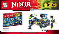 "Конструктор Senco Ninja (аналог Lego Ninjago) арт. SY390 ""Джей Уолкер"" 422 дет"
