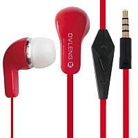 Наушники с микрофоном Ovleng IP 740 (цвета в асс.) *1809
