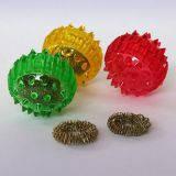 Массажный шарик Су-джок с кольцами