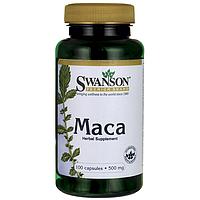 Мака Корень, Мака Перуанская, 500 мг 100 капсул