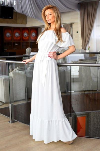318e2f3ddb19e49 Узумительное летнее длинное платье макси из полированного шелка, фото 1