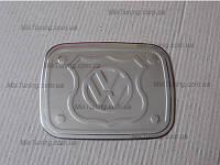 Накладка на люк бензобака Volkswagen CADDY (Фольксваген кадди), нерж.