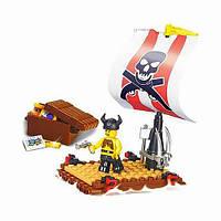 Конструктор типа LEGO Пираты 64 детали