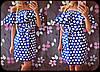 Платье в горошек с воланом вокруг горловины, фото 5