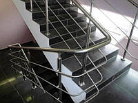 Перила из нержавейки,лестницы,поручни