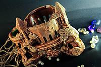 Фигура для аквариума Замок чаша