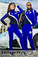 Спортивный костюм мужской и женский Челси индиго