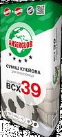 Клей для приклейки пенопласта и базальтовой ваты ANSERGLOB BCX 39 25кг