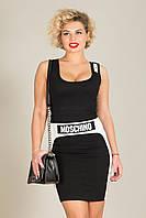 Хитовое облегающее мини платье Moschino, фото 1