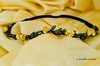 Резинка-обруч квіточка