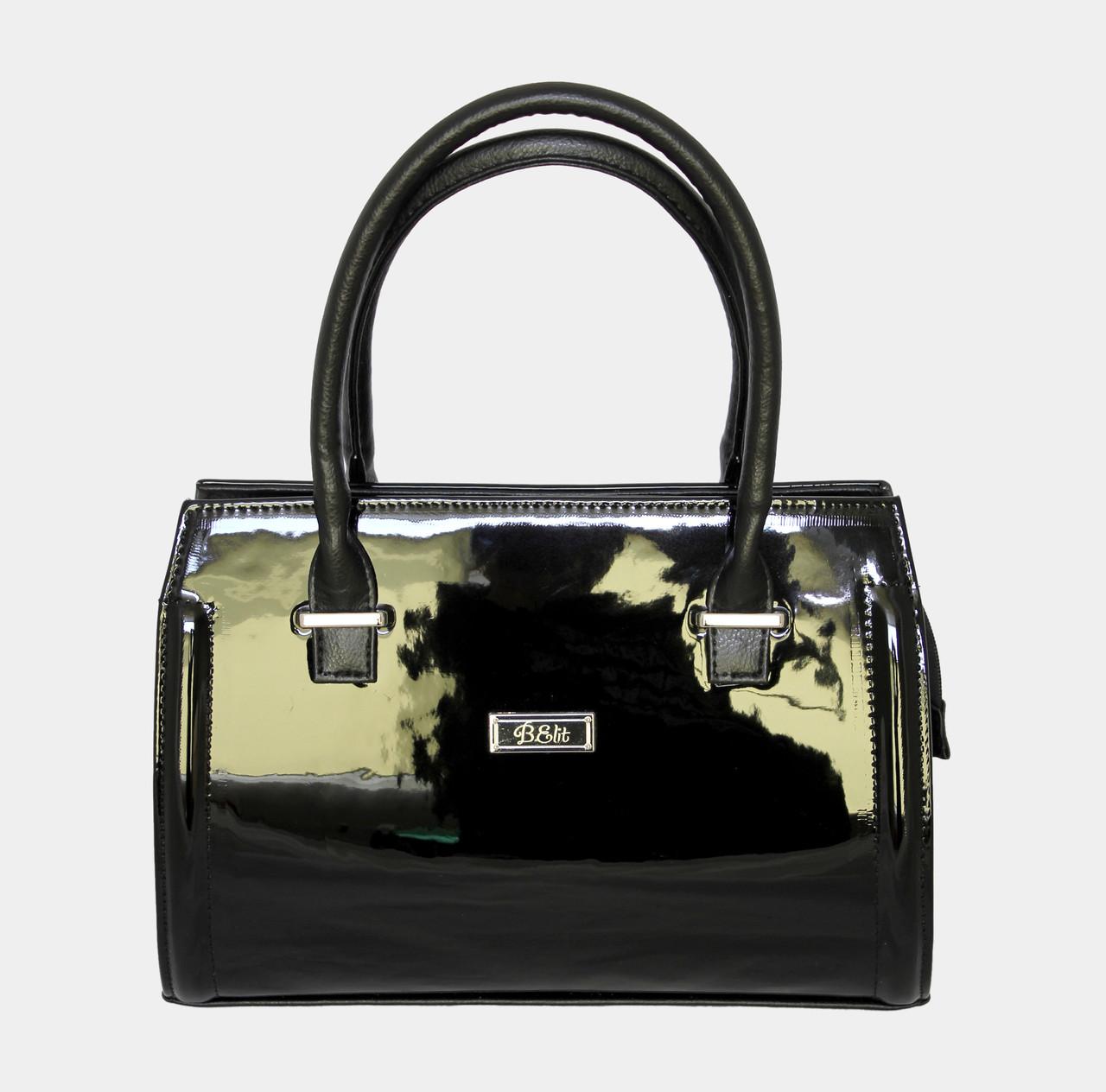 Сумка лакова чорна українського виробництва. Купити жіночі сумочки і ... 47d1098ad36c7
