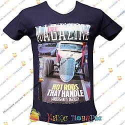 Мужские футболки с Ликрой пр- во Турция от 44 до 50 размера (1-2641)