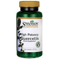 Кверцетин экстракт (High Potency Quercetin), 475 мг 60 капсул